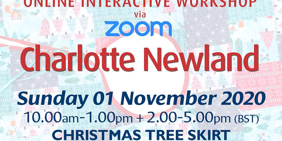 Sunday 01 November 2020: Online Workshop (Christmas Tree Skirt)