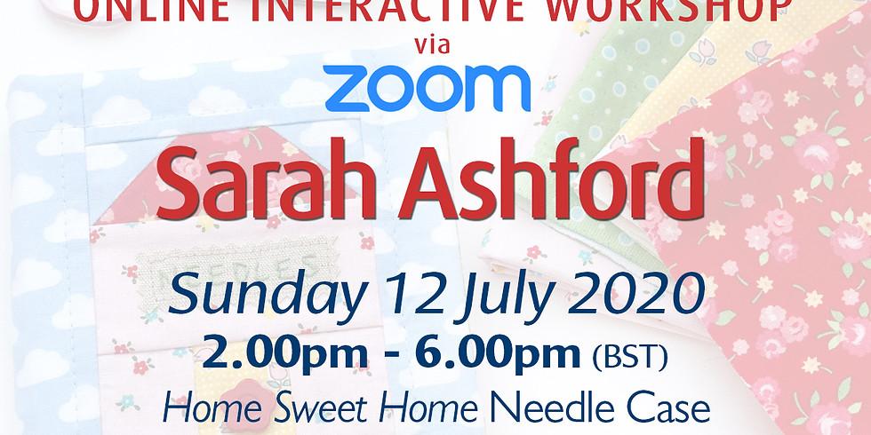 Sunday 12 July 2020: Online Workshop (Needle Case)