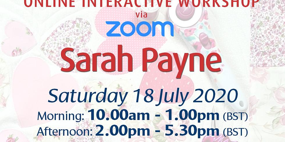 Saturday 18 July 2020: Online Workshop (Quilting)