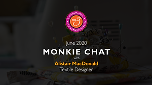 Take 3 Private Members Club Online Videos Craft Monkie Chat Interview Top Tutor Textile Designer Alistair MacDonald
