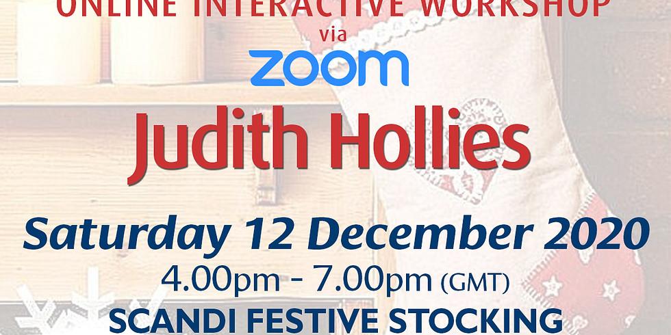 Saturday 12 December 2020: Online Workshop (Scandi Stocking)