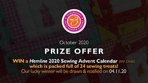 CraftyMonkies Take 3 Private Member Club Online Videos Subscription Monthly Prize Hemline Sewing Advent Calendar