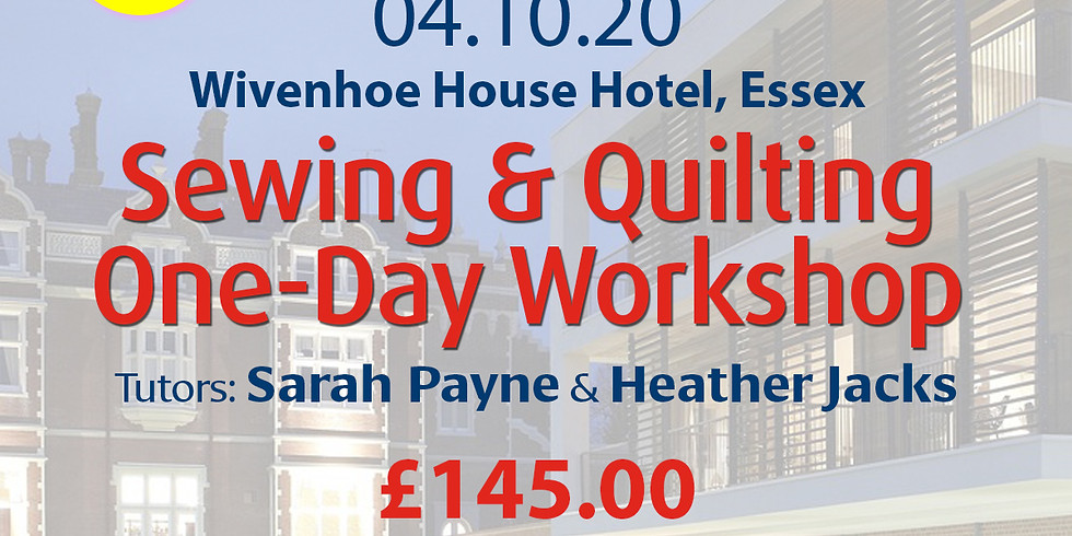 Sunday 04 October 2020: One-Day Workshop