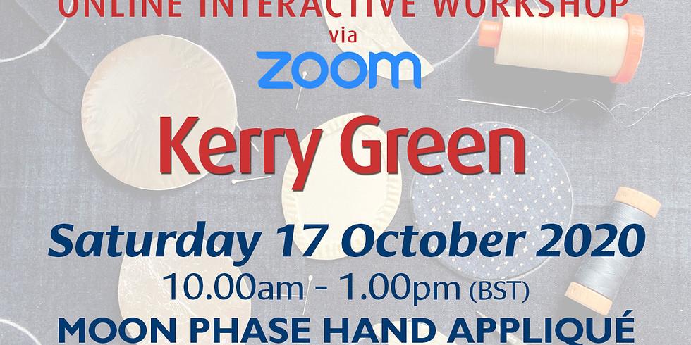 Saturday 17 October 2020: Online Workshop (Moon Phase Hand Appliqué)