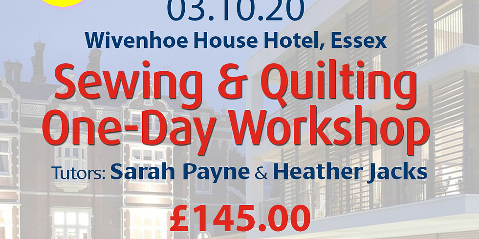 Saturday 03 October 2020: One-Day Workshop