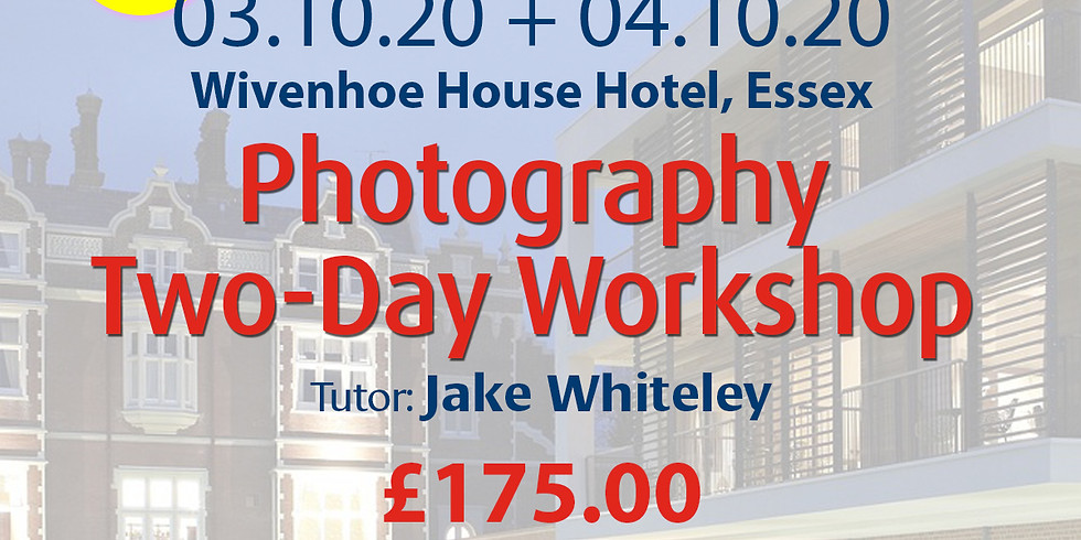 Saturday 03 + Sunday 04 October 2020: Photography