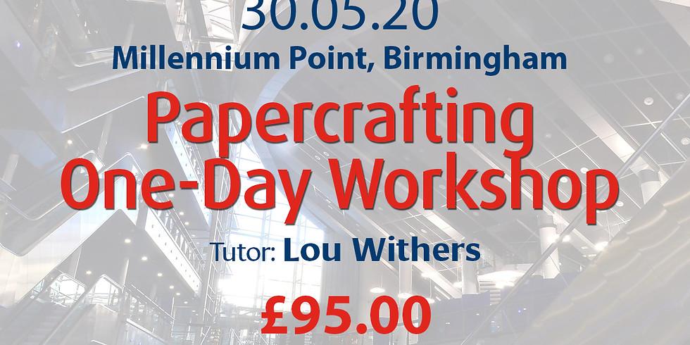 Saturday 30 May 2020: Papercraft (Lou)