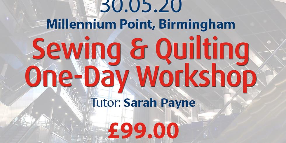 Saturday 30 May 2020: Sewing & Quilting