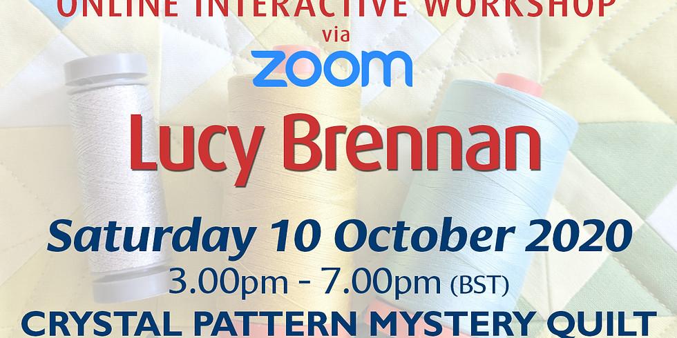 Saturday 10 October 2020: Online Workshop (Crystal Pattern Quilt)