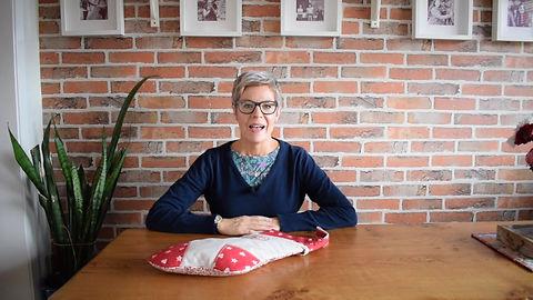 CraftyMonkies Judith Hollies Online Interactive Crafting Workshop Festive Scandi Stocking