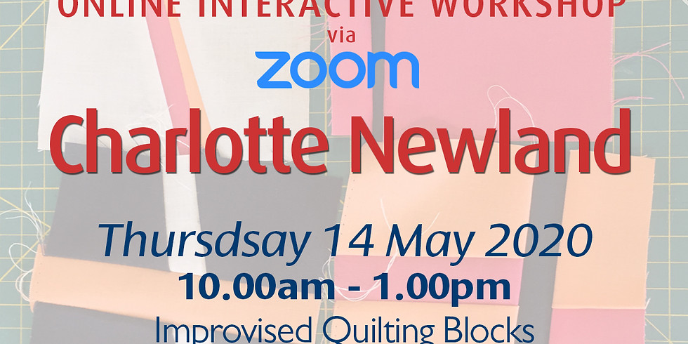 Thursday 14 May 2020: Online Workshop (Quilt Blocks)