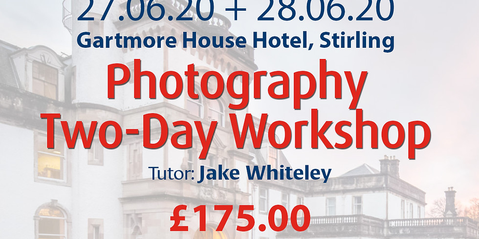 Saturday 27 + Sunday 28 June 2020: Photography