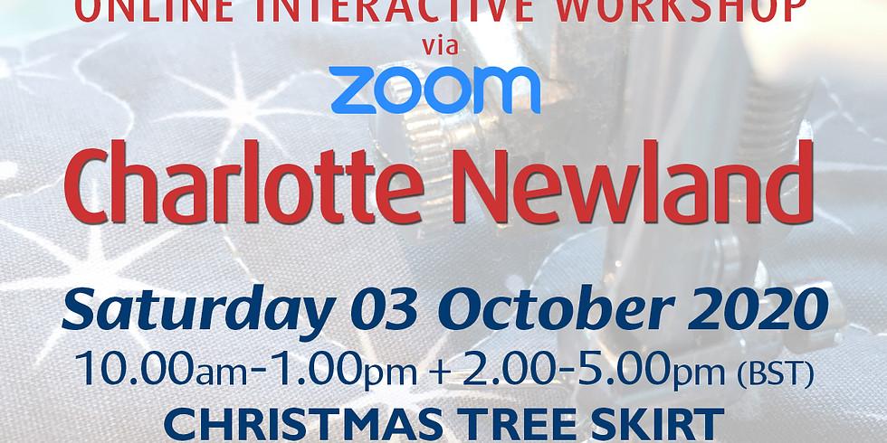 Saturday 03 October 2020: Online Workshop (Christmas Tree Skirt)