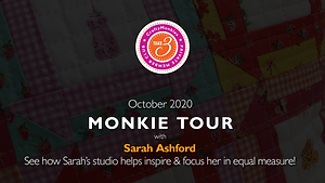 CraftyMonkies Take 3 Private Member Club Online Videos Subscription Studio Tour & Chat Sarah Ashford