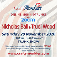 Online Interactive Trunk Show Chat Nicholas Ball Trudi Wood