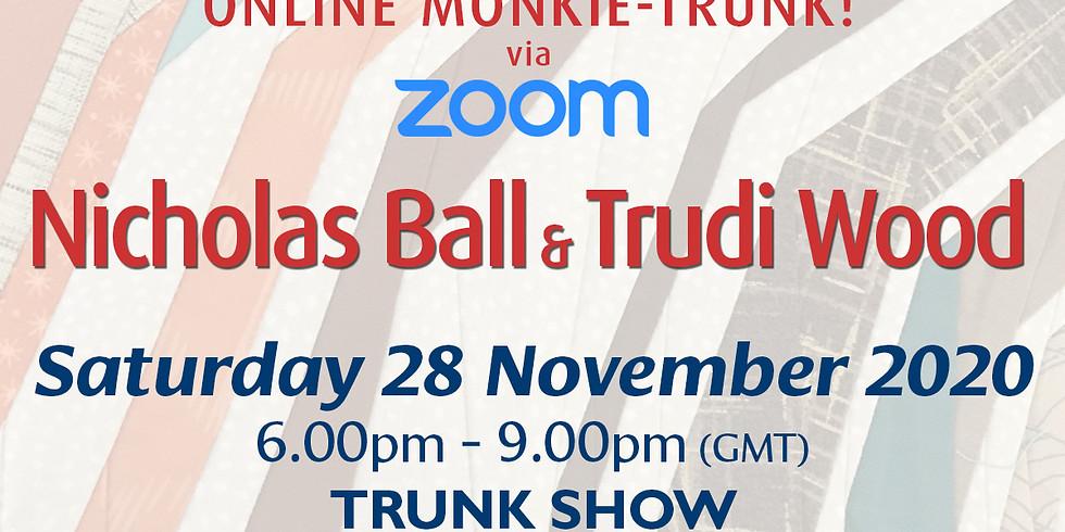 Saturday 28 November 2020: Monkie-Trunk Show!