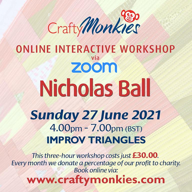 Sunday 27 June 2021: Online Workshop (Improv Triangles)