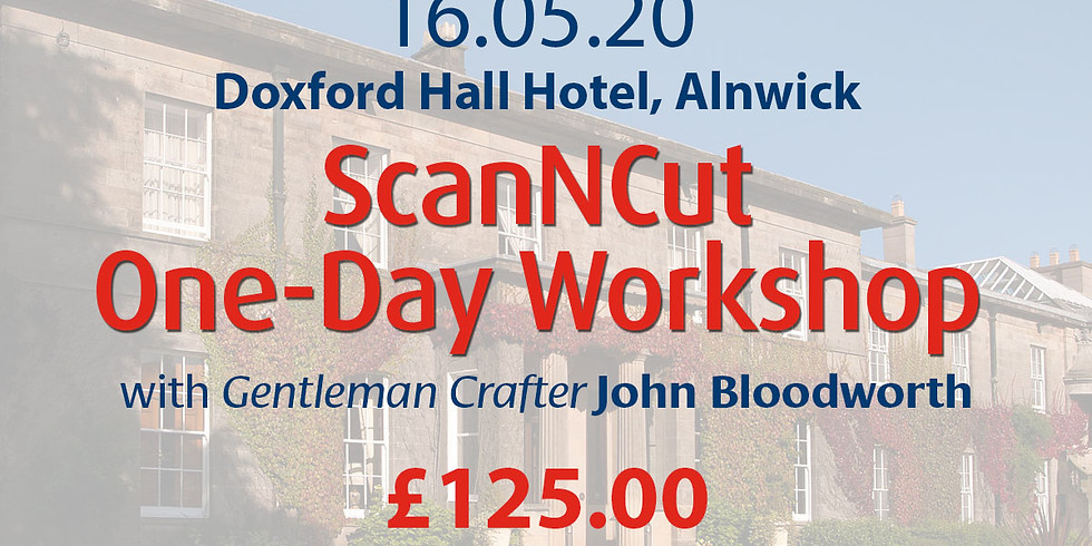 Saturday 16 May 2020: Workshop Only