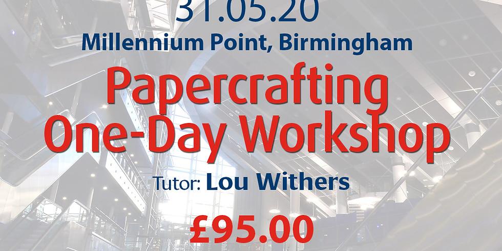 Sunday 30 May 2020: Papercraft (Lou)
