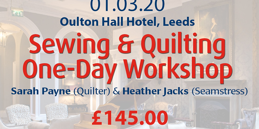 Sunday 01 March 2020: One-Day Workshop