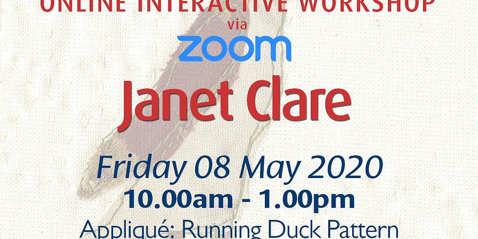 Friday 08 May 2020: Online Tutorial (Appliqué) (1)