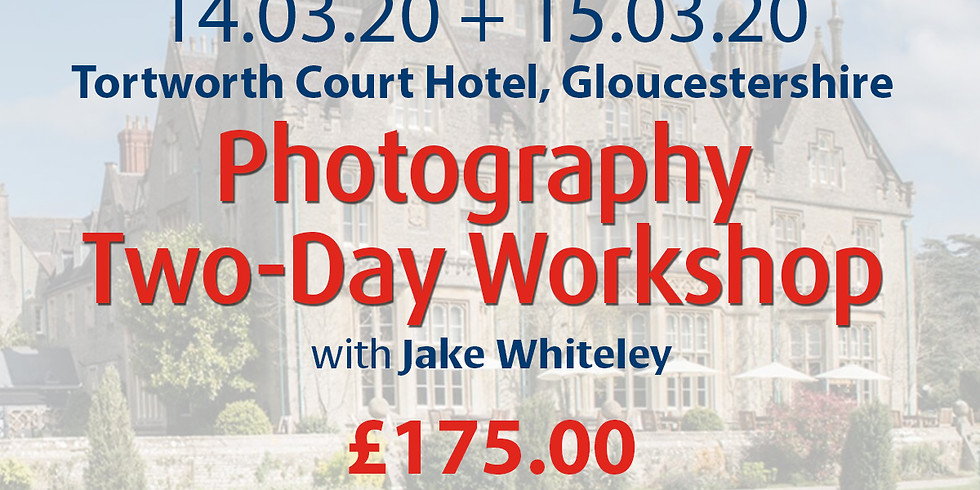 Saturday 14 + Sunday 15 March 2020: Photography