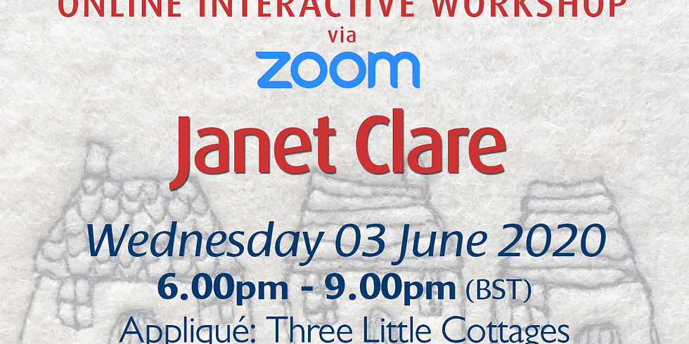 Wednesday 03 June 2020: Online Workshop (Three Little Cottages)