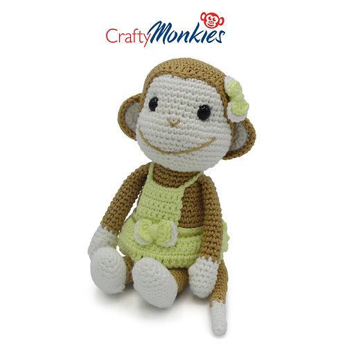 Crochet Kit: Nikki Monkie