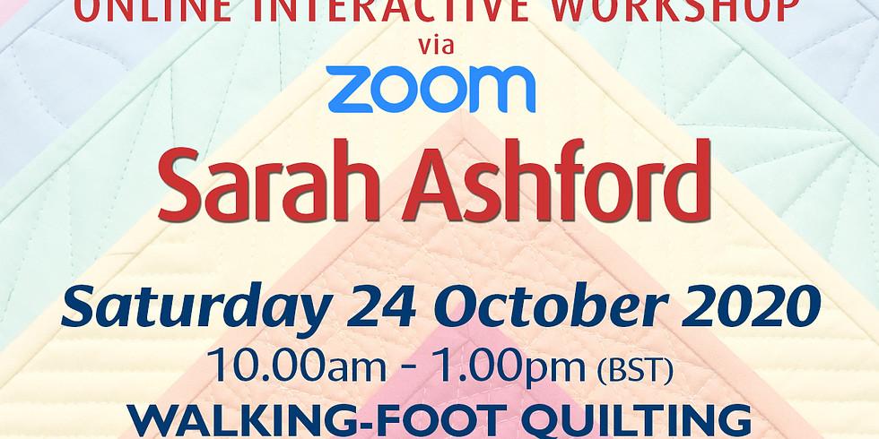Saturday 24 October 2020: Online Workshop (Quilting)