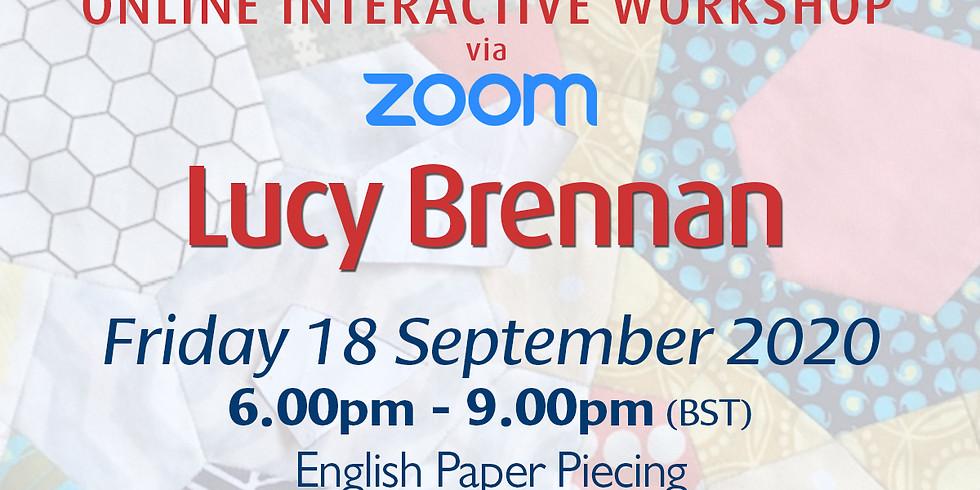 Friday 18 September 2020: Online Workshop (English Paper Piecing)