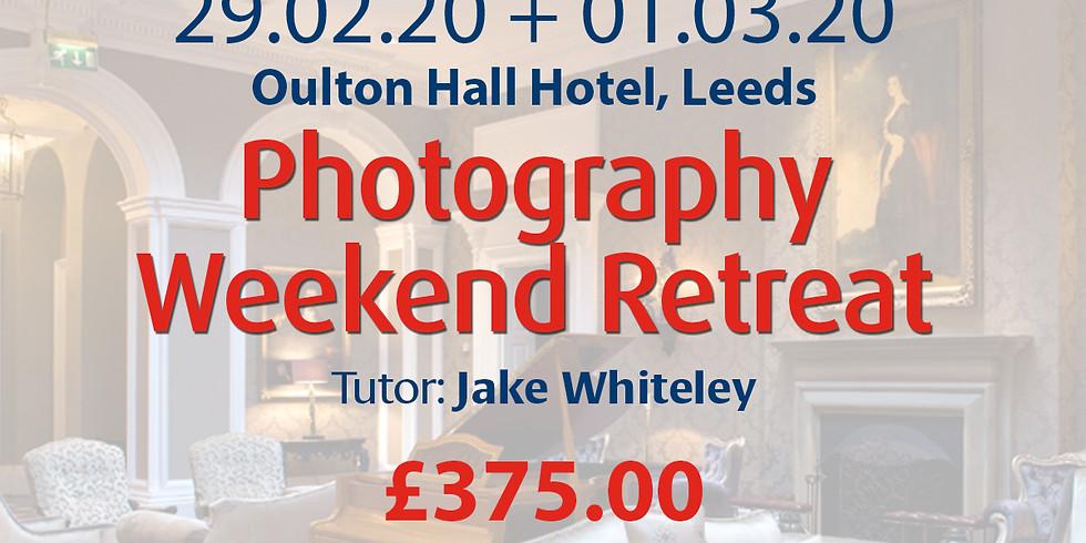 Saturday 29 February + Sunday 01 March 2020: Photography Retreat