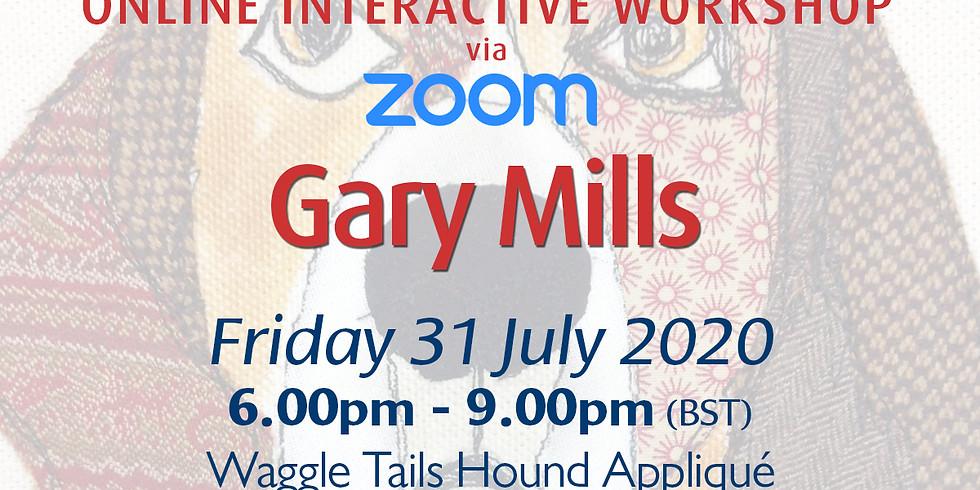 Friday 31 July 2020: Online Workshop (Appliqué)