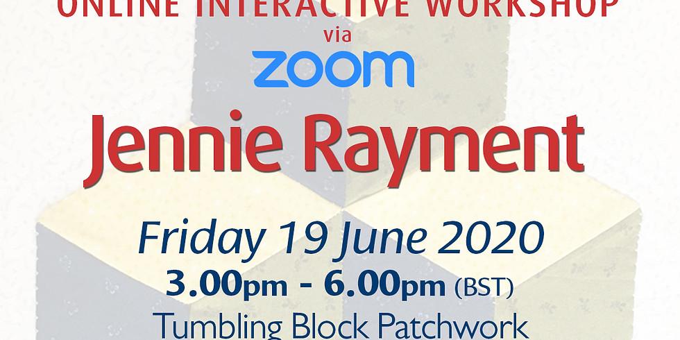 Friday 19 June 2020: Online Workshop (Tumbling 3D Blocks)