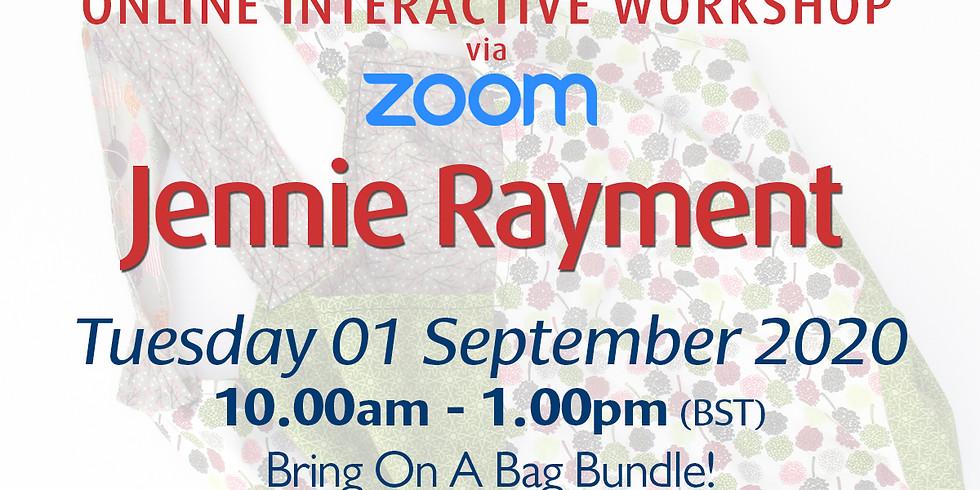 Tuesday 01 September 2020: Online Workshop (Baggy Bundle)