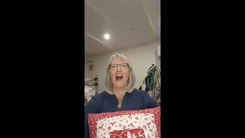 CraftyMonkies Sarah Payne Video Trailer forOnline Interactive Workshop Raw Edge Machine Appliqué Crafting Class
