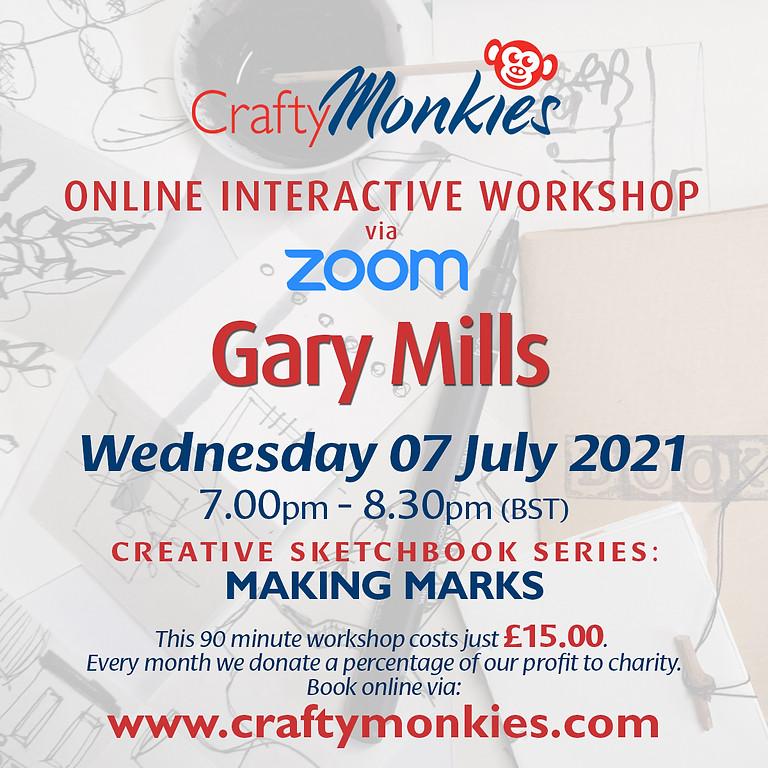 Wednesday 07 July 2021: Online Workshop (Making Marks)