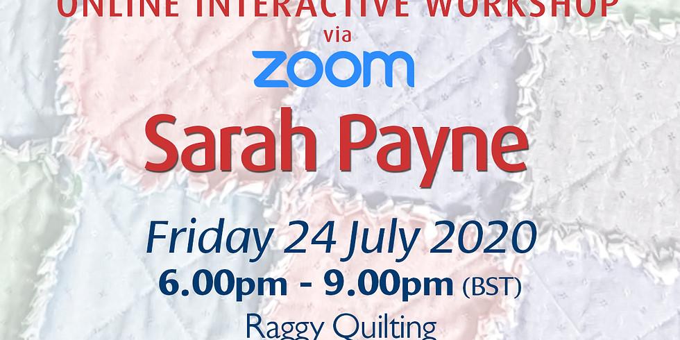 Friday 24 July 2020: Online Workshop (Quilting)