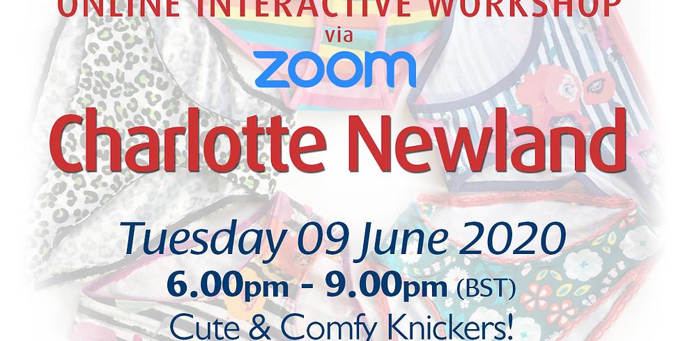Tuesday 09 June 2020: Online Workshop (Knickers!)