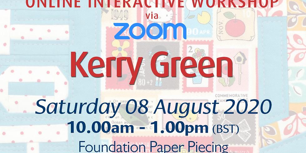 Saturday 08 August 2020: Online Workshop (Foundation Paper Piecing)
