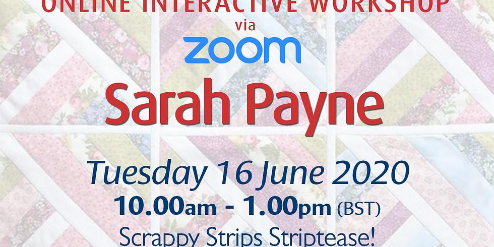 Tuesday 16 June 2020: Online Workshop (Strip Quilting)