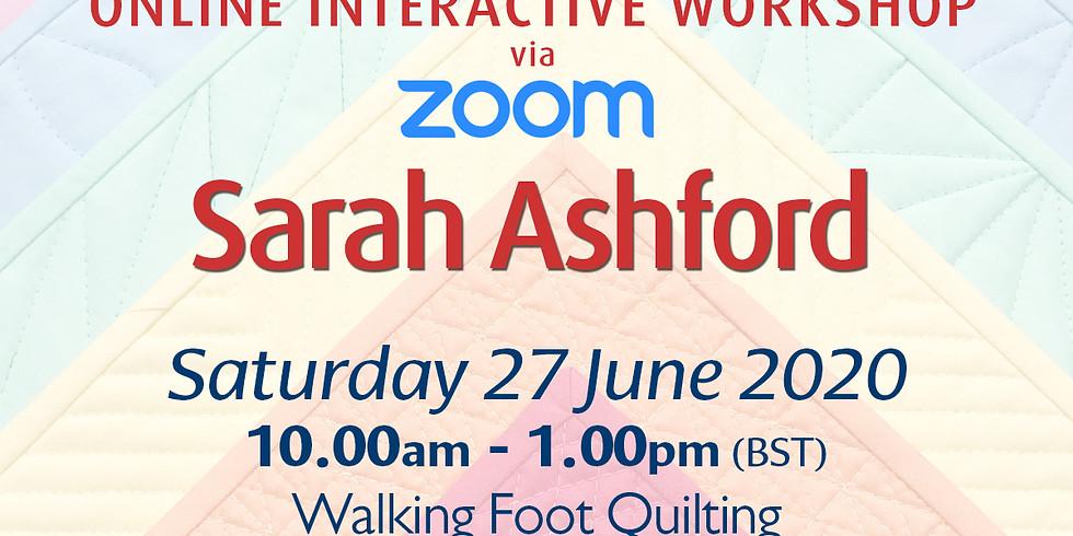 Saturday 27 June 2020: Online Workshop (Quilting)