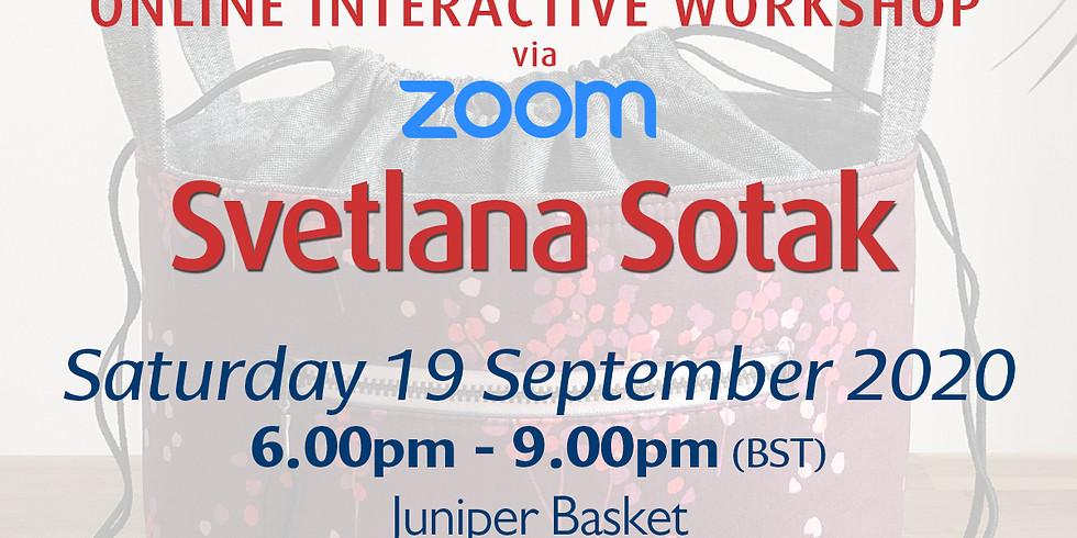 Saturday 19 September 2020: Online Workshop (Juniper Basket)