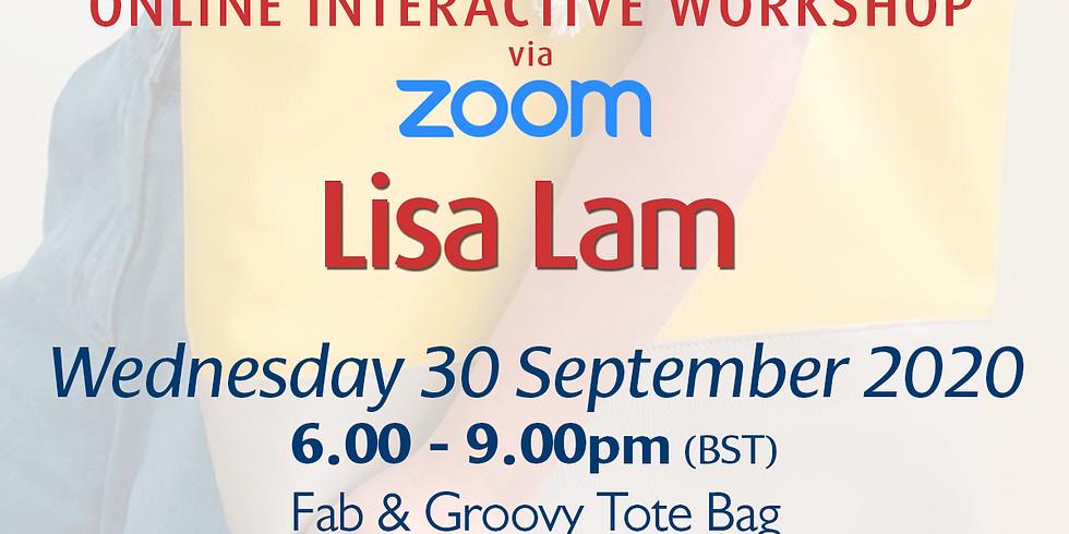 Wednesday 30 September 2020: Online Workshop (Tote Bag)