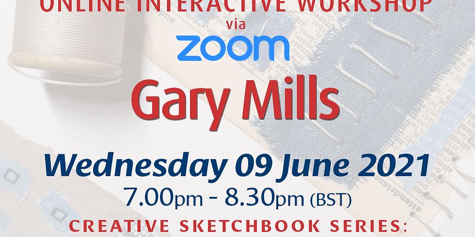 Wednesday 09 June 2021: Online Workshop (Collage Doodles)