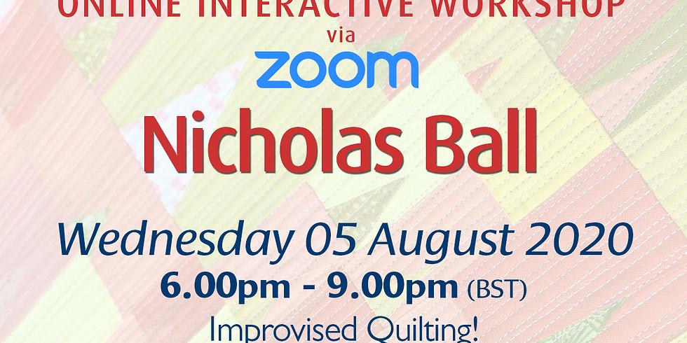 Wednesday 05 August 2020: Online Workshop (Improv Quilting)