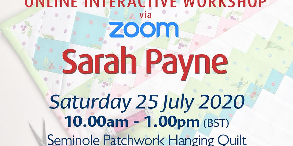 Saturday 25 July 2020: Online Workshop (Quilting)