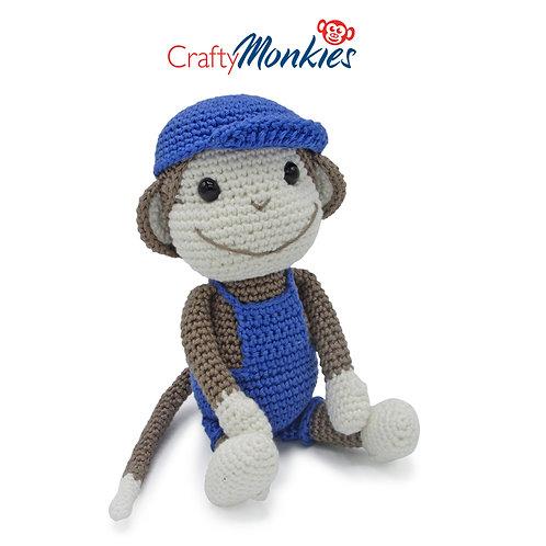 Crochet Kit: Bryan Monkie