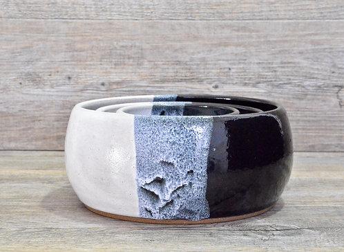 handmade ceramic Nested Bowls by Miller's Pottery Australia
