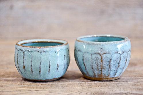 Lake Eyre - Salt & Pepper Pinch Pots