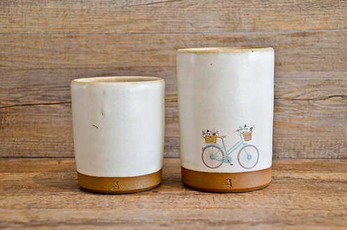 Handmade ceramic utensils holders by Miller's Pottery Australia